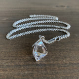 Hannah Blount Medium Sticks & Stones Herkimer Diamond Necklace