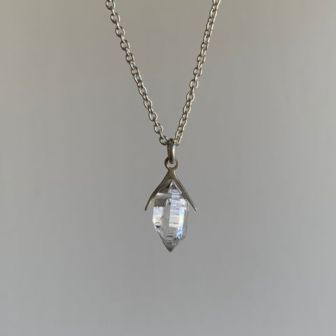 Hannah Blount Little Sticks & Stones Herkimer Diamond Necklace