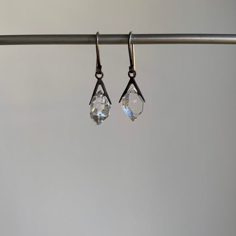 Hannah Blount Little Sticks & Stones Herkimer Diamond Earrings
