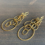 Rosanne Pugliese Gold Sculpture Earrings