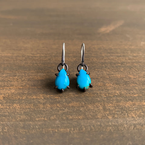 Hannah Blount North Sea Kingman Turquoise Vanity Earrings