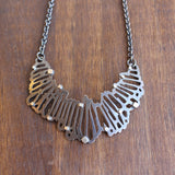 Joanna Nealey Crescent Shattered Pendant Necklace