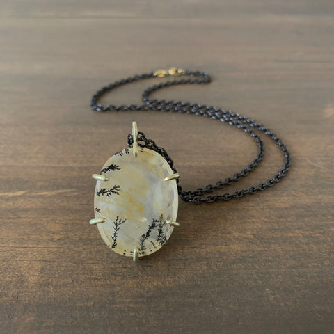Judi Powers Dendritic Quartz Pendant