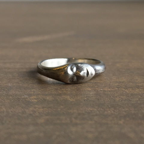 Hannah Blount Little Grey Lady Cameo Ring