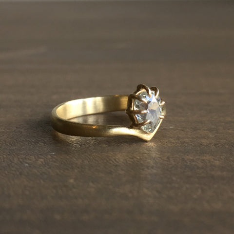 Hannah Blount Mirage Mine Cut Diamond Ring