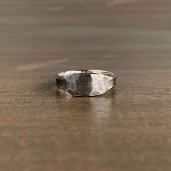 Studebaker Metals Silver ID Ring