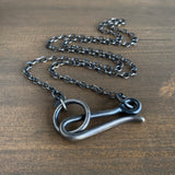Studebaker Metals Silver Hook Necklace
