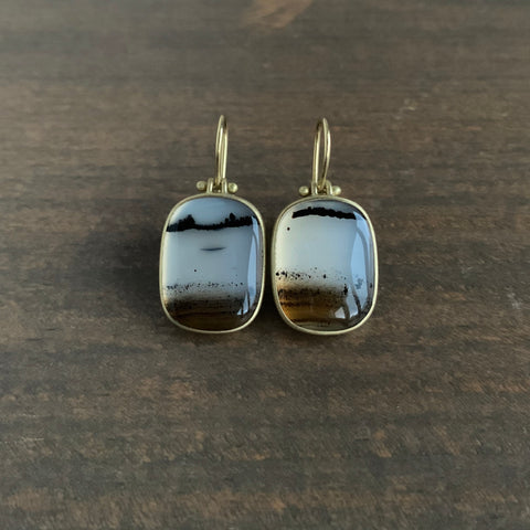 Monika Krol Montana Agate Earrings