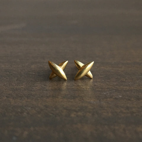 Mimi Favre Small Star Stud Earrings