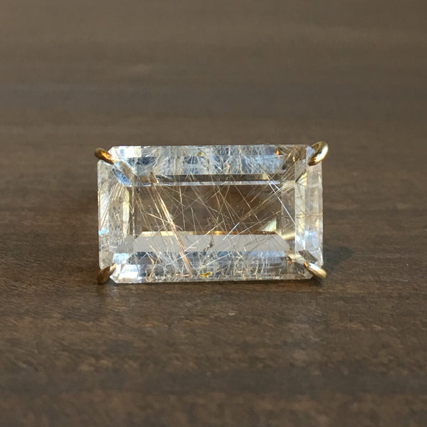 Rosanne Pugliese Rutilated Quartz Ring