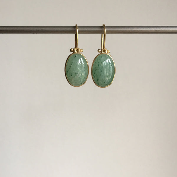 Monika Krol Aventurine Earrings