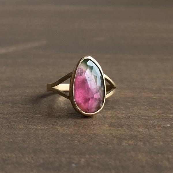 Katie Carder Watermelon Cocktail Ring