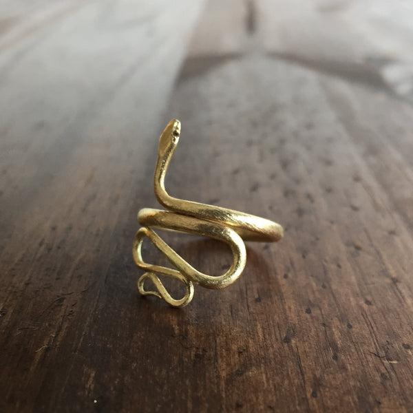 Gabriella Kiss Large Snake Ring