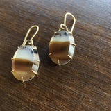 Hannah Blount Dune Agate Earrings