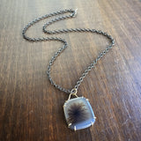 Hannah Blount Dendritic Agate Vanity Necklace