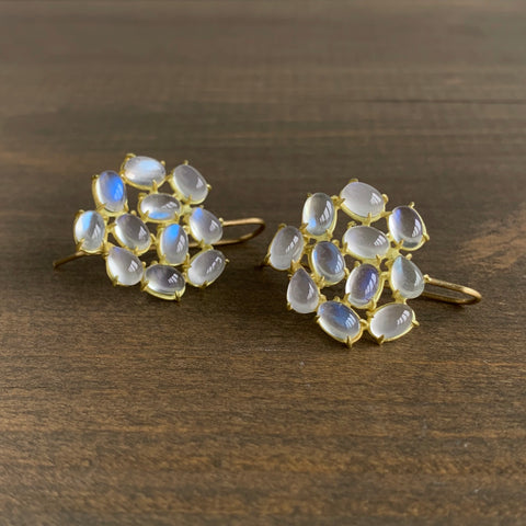 Rosanne Pugliese Moonstone Florette Earrings