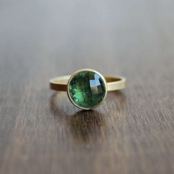 Monika Krol Green Tourmaline Ring