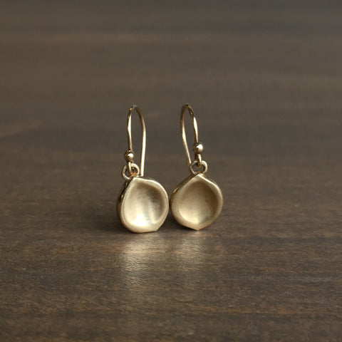Rachel Atherley Gold Seed Earrings
