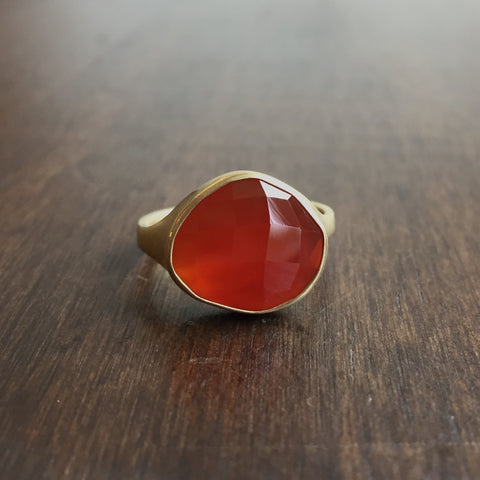 Monika Krol Carnelian Ring