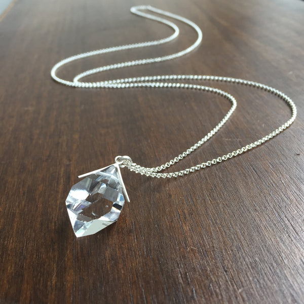 Hannah Blount Large Herkimer Diamond Necklace