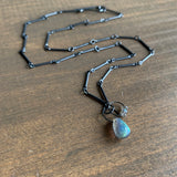 Heather Guidero Labradorite Mini Tangle Necklace