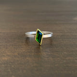 Sam Woehrmann Tourmaline Geometric Ring