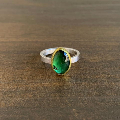 Sam Woehrmann Tourmaline Oval Ring