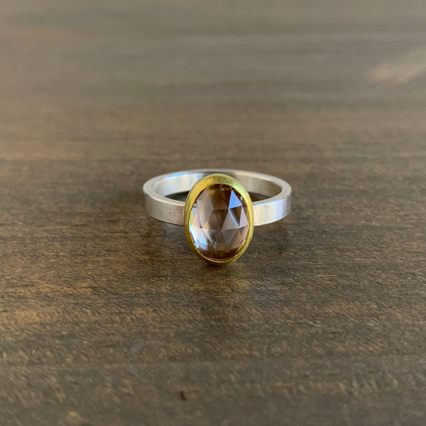Sam Woehrmann Zircon Oval Ring