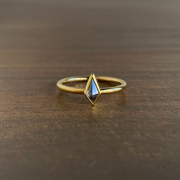 Sam Woehrmann Grey Diamond Kite Ring