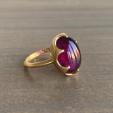 Mimi Favre Red Tourmaline Queen's Ring