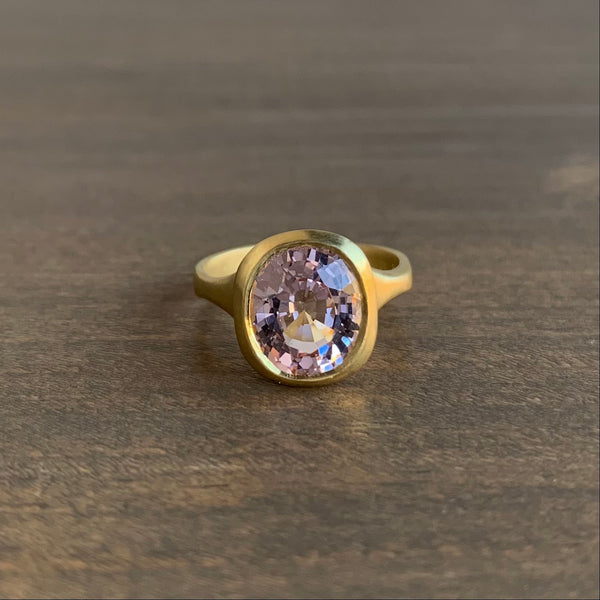 Judi Powers Morganite Amphora Ring