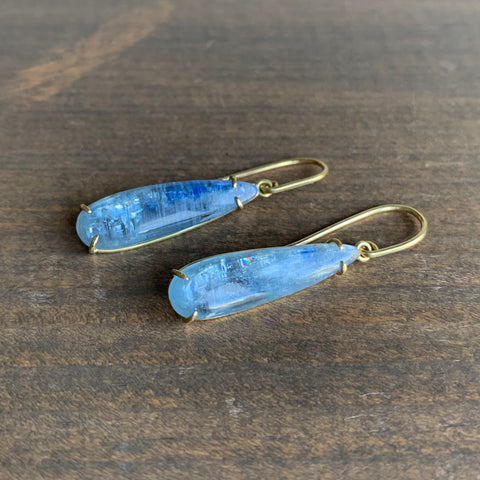 Mimi Favre Kyanite Teardrop Earrings