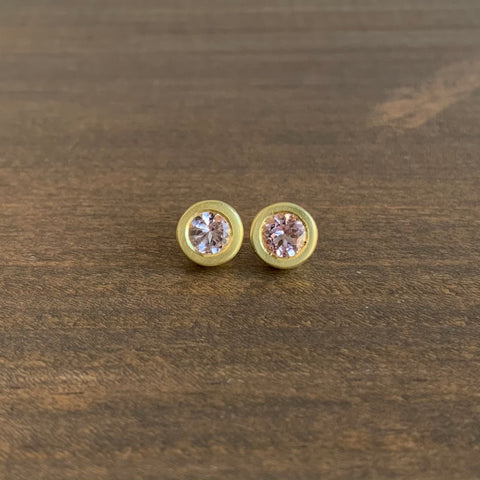 Judi Powers Perfect Morganite Studs