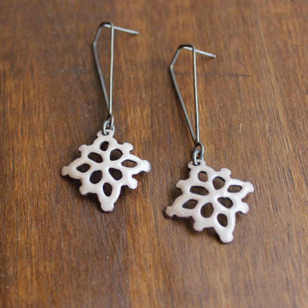Joanna Nealey Square Structure Earrings