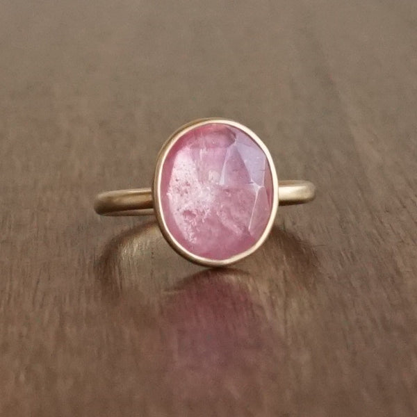 Lola Brooks Natural Pink Sapphire Ring