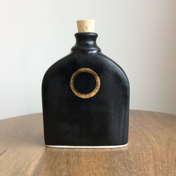 Quiet Clay Black Eclipse Flask