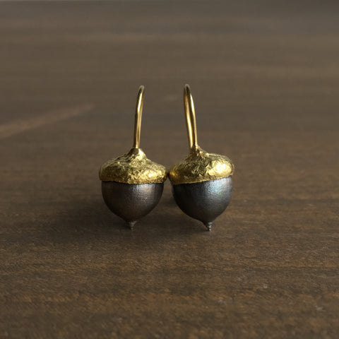 Mimi Favre Acorn Earrings