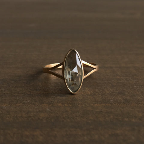 Katie Carder Green Sapphire Cocktail Ring