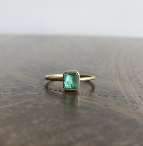 Gabriella Kiss Columbian Emerald Ring