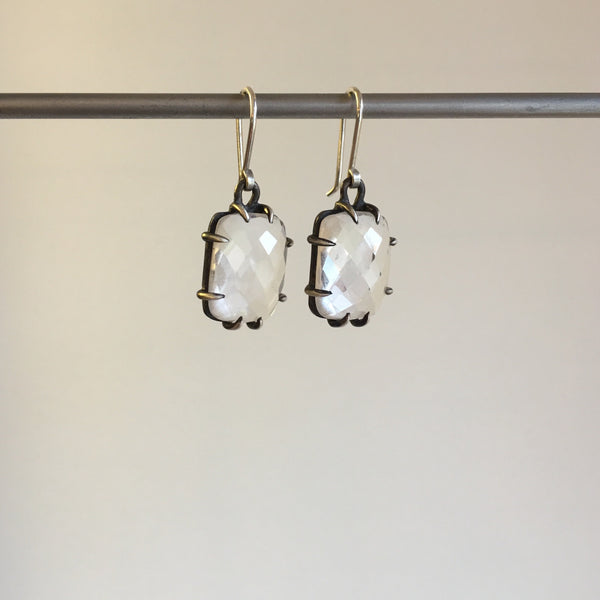 Hannah Blount Faceted Quartz Vanity Earrings