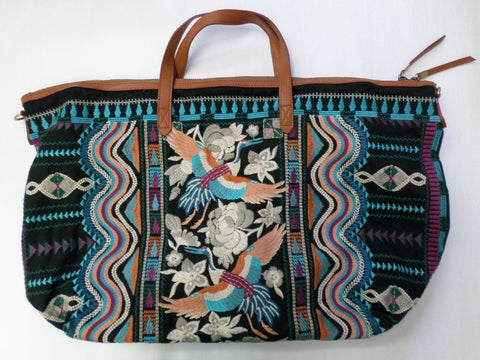 Johnny Was JWLA Embroidered Yucatan Weekend Bag - JW69001218
