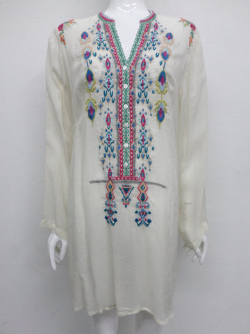 Johnny Was Azten Embroidered Tunic - XL - JW95580116