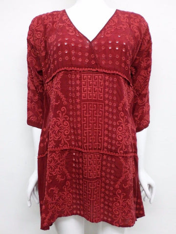 NWT Johnny Was Ramos Wrap Tunic - S - JW1380716
