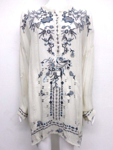 NWT Johnny Was Embroidered Samantha Tunic - 1X - SH10340518