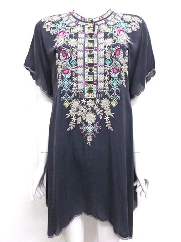 NWT Johnny Was Embroidered Livana Tunic - 3X - SH65891218