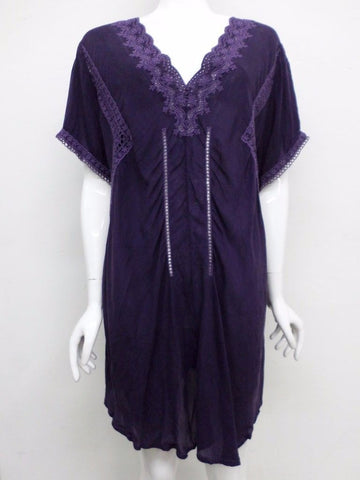 NWT Johnny Was Embroidered V-Neck Tunic - 1X - JW16210916