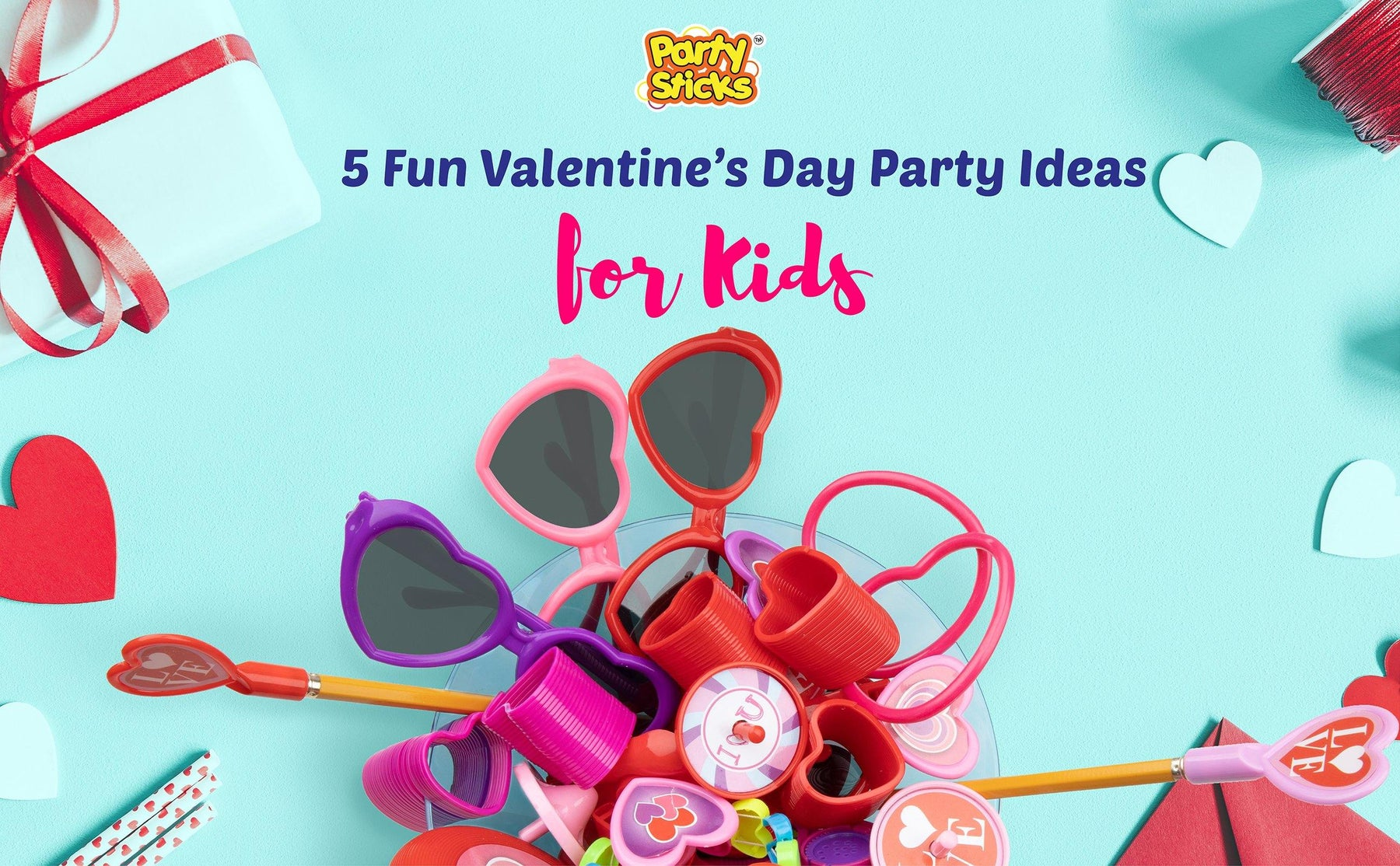 5 Fun Valentine Day Party Ideas for Kids