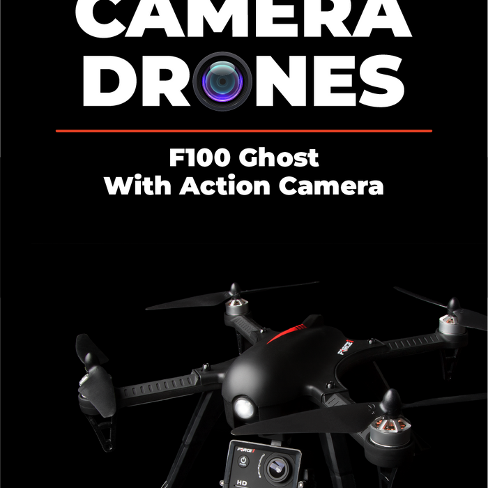 Newest Action Camera Drone – F100 Ghost Brushless Quadcopter Review - USA Toyz