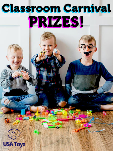 Get their attention with cool prizes for every right answers in QandA, every perfect score or every time they do a great job in school. Party favors and glow stick packs are awesome box prizes for classroom activities. Promote a healthy competition and get your kids interested in participation.