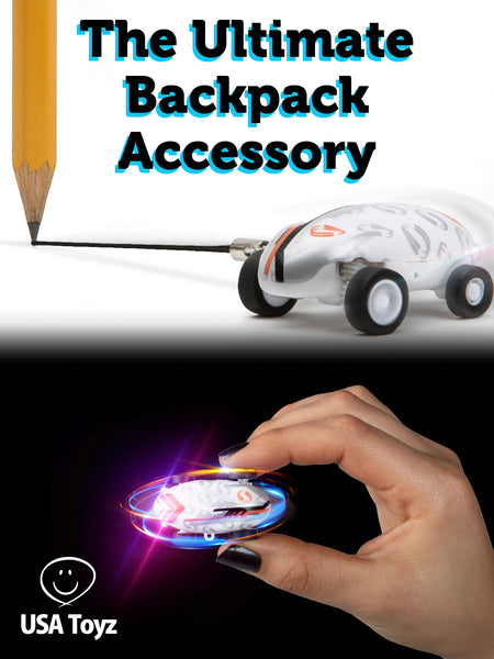When breaks and lunch time become boring, Whipz is there to keep you entertained. It is the perfect bag accessory with its mini design. Twirl the LED car in the crystal ball and witness an awesome spectacle!